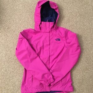 Northface rain jacket - as good as new